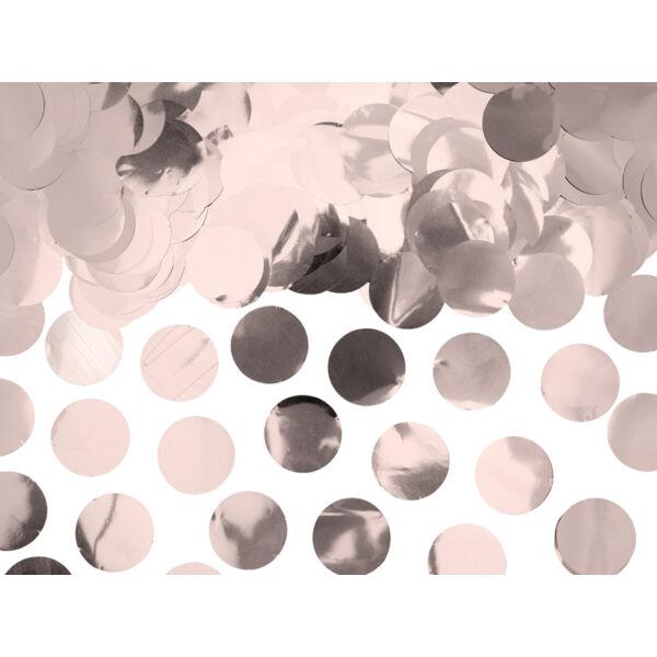 Rose gold metál konfetti
