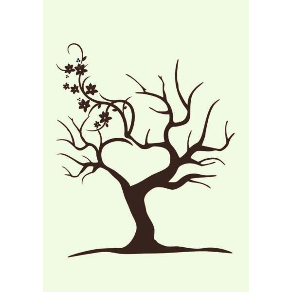 Virágos fa ujjlenyomatfa