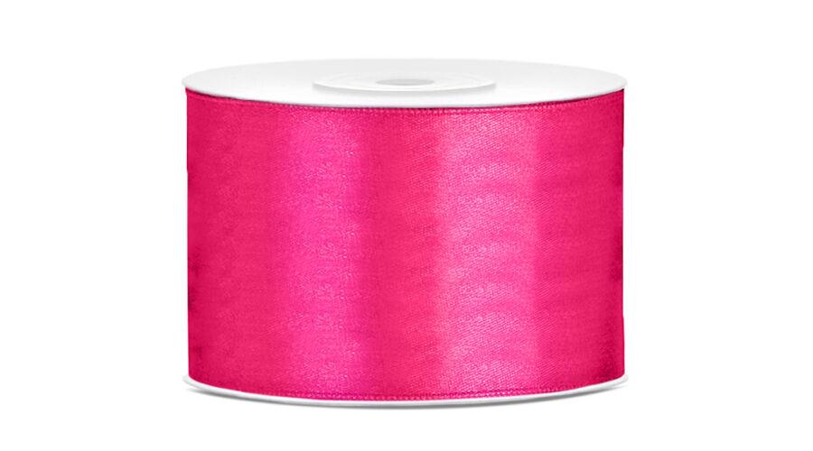 Pink szatén szalag 5cm x 25m b649ae742d