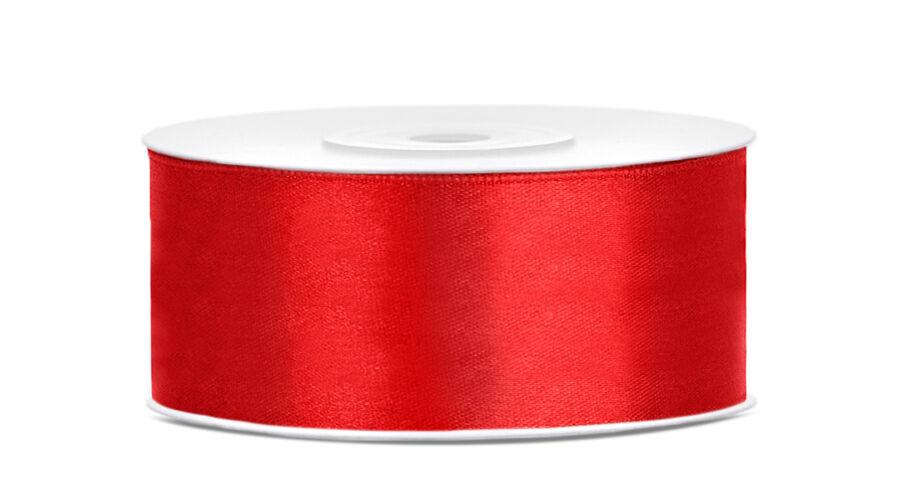 Piros szatén szalag 25mm x 25m 7dfa6e2f18
